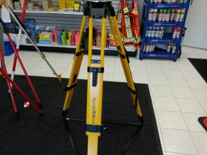 Survey-Max Heavy Duty Fiberglass Tripod TRP-001